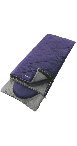 Outwell Contour Lux Sleeping Bag Purple
